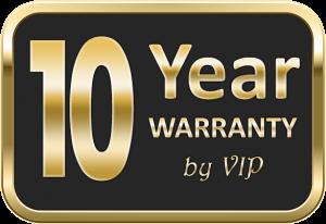 10 year warranty on Coffered ceilings