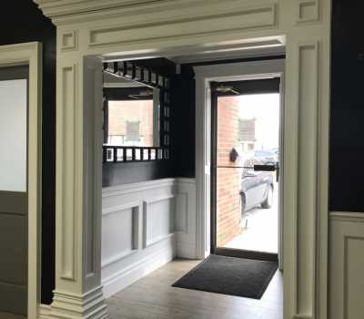 luxury doorway columns