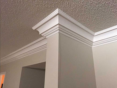 Crown moulding installation GTA