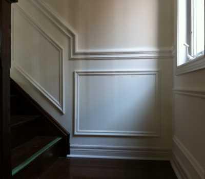wainscoting wall trim
