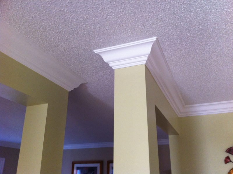 install crown moulding