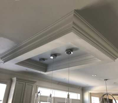 crown moulding in kitchen design