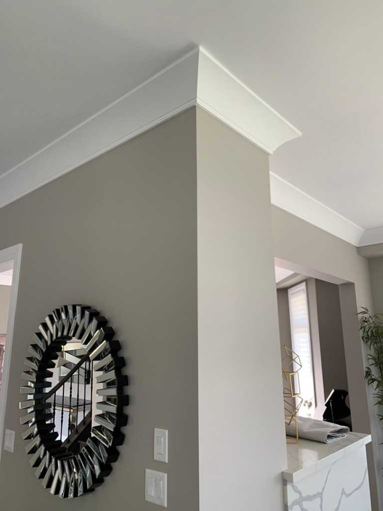 cornice moulding installation