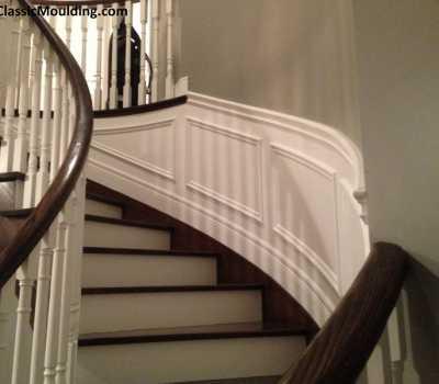 Stairs wainscoting Toronto