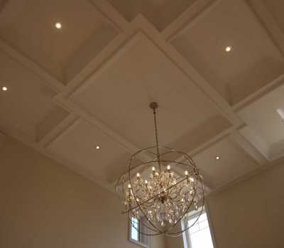 coffered ceilings and crown moulding Vaughan
