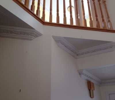 moulding under staircase