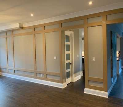 luxury wall decor wainscoting installation