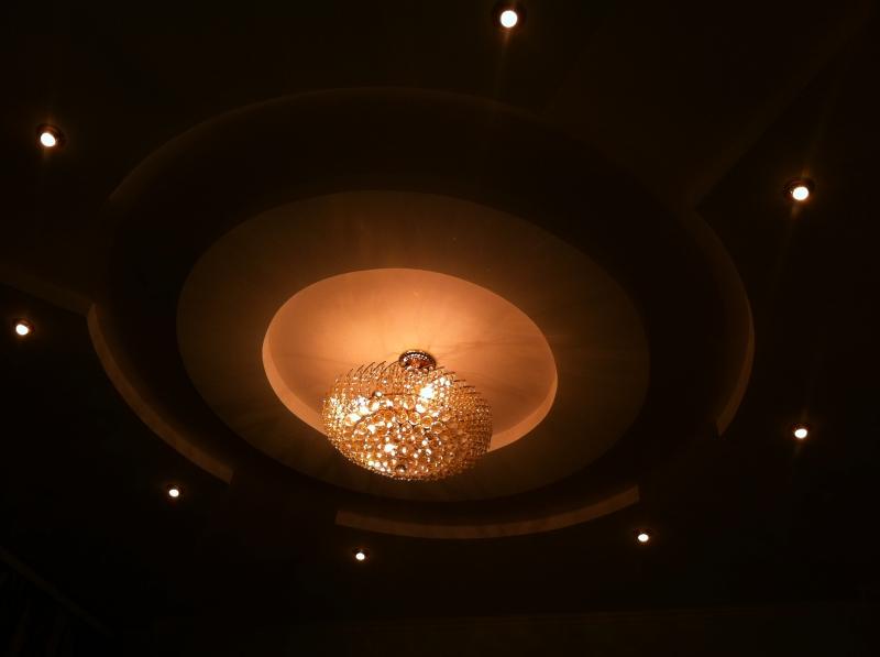 living room ceiling potlights Woodbridge