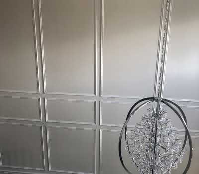 wainscotting wall cover trim