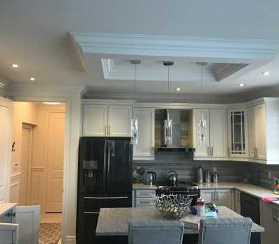 Crown Moulding project Hamilton