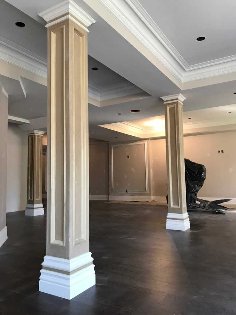luxury Decorative Trim on columns