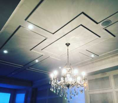 coffered ceilings ideas and moulding
