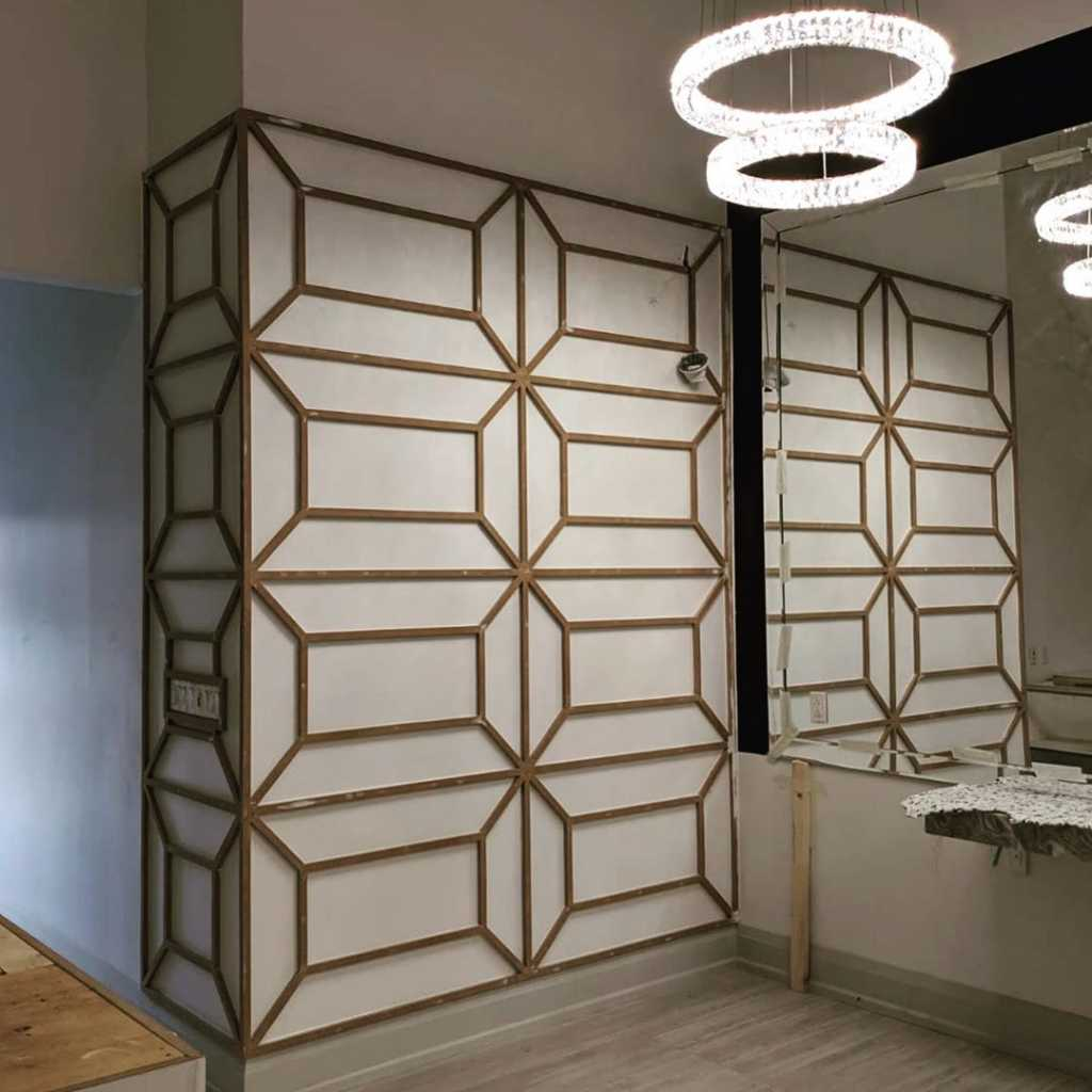 modern Decorative Trim wall