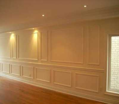 Full Wall Wainscoting Thornhill