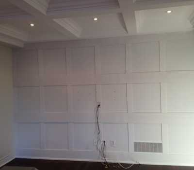 Full Wall Panels basement Toronto