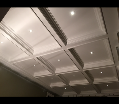 waffle ceiling and mouldings GTA