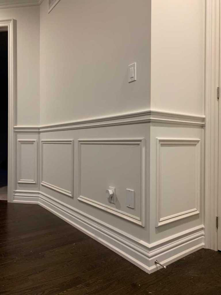 wainscoting trim