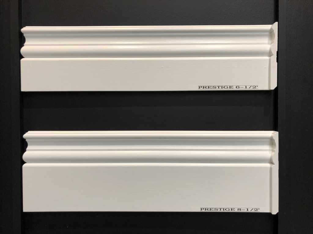 Prestige Decorative Trim baseboards