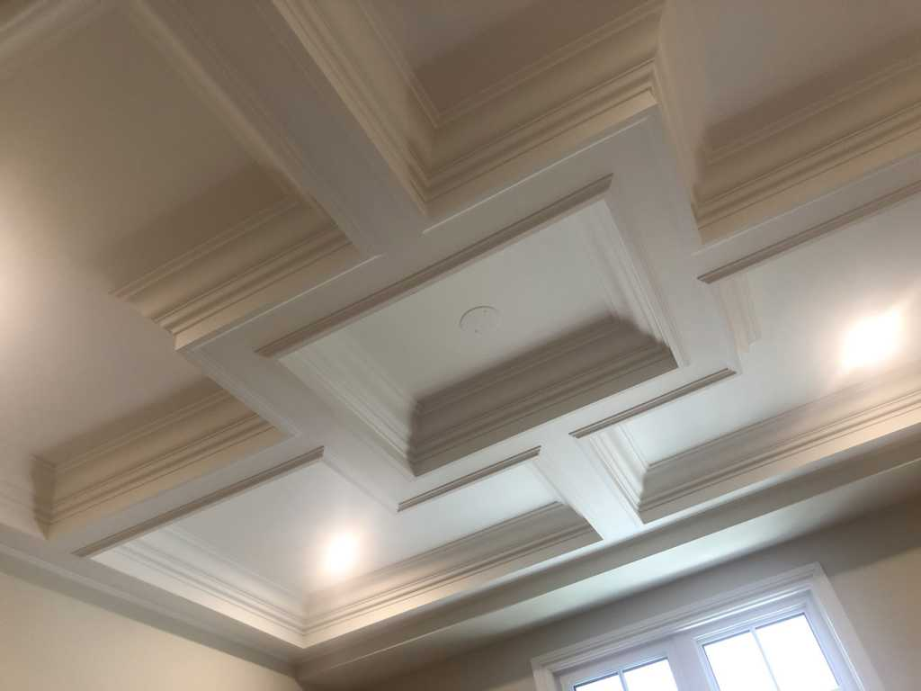 coffered ceiling installation toronto