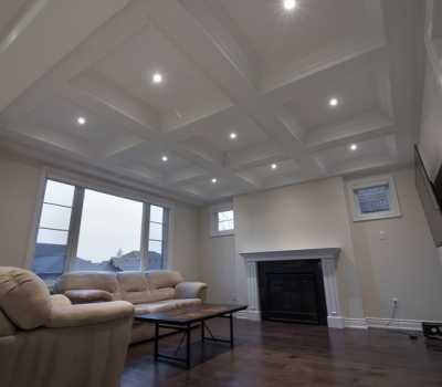 toronto coffered ceiling