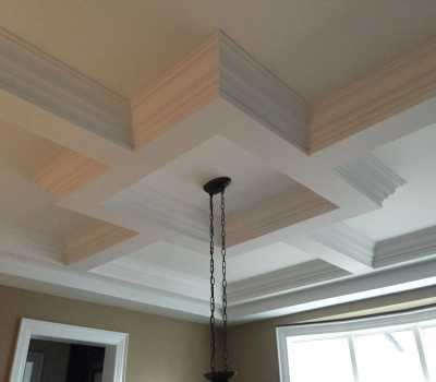 ceiling design with moulding Toronto