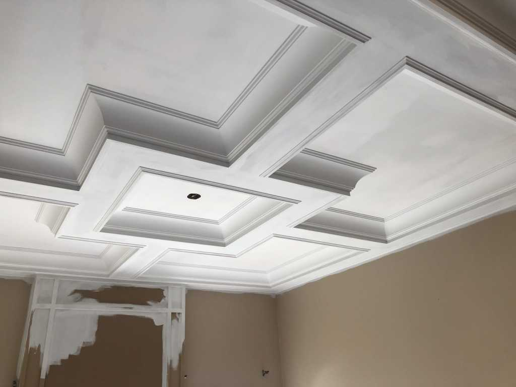 luxury coffered ceiling