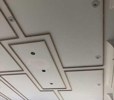 custom waffle ceiling