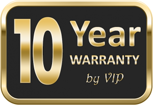 10 year warranty on Coffered ceilings