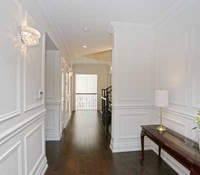 white moulding installation Toronto