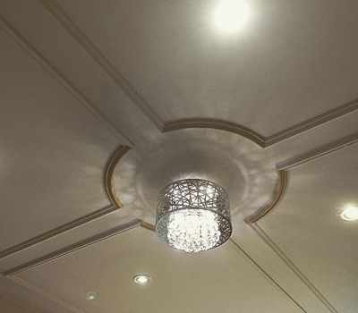 Ceiling woodworking