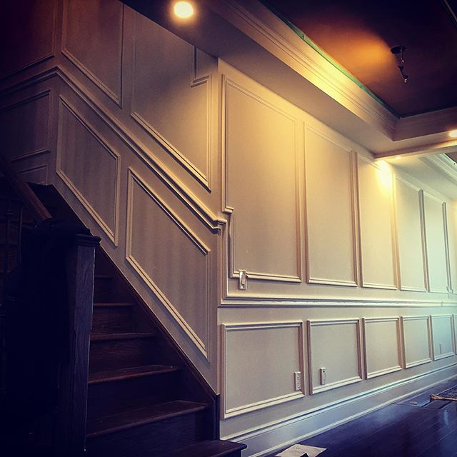 Trimwork VIP wainscoting