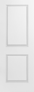 2 Panel Carrara Moulded Door