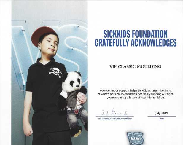 Photo of Sickkids foundation