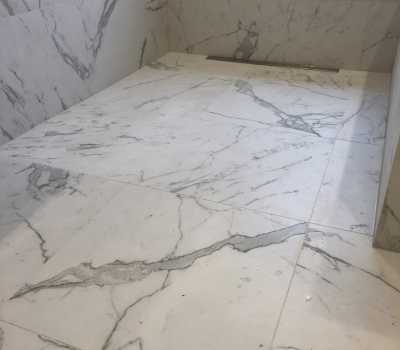 custom floor after Bathroom Renovation in Toronto