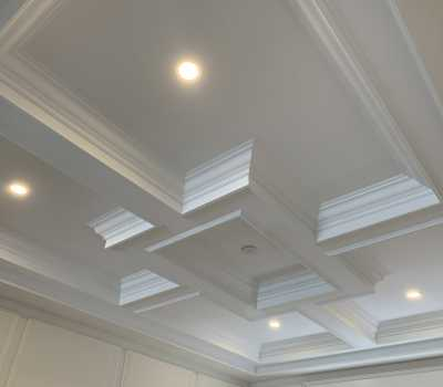 waffle ceiling by VIP classic moulding Toronto