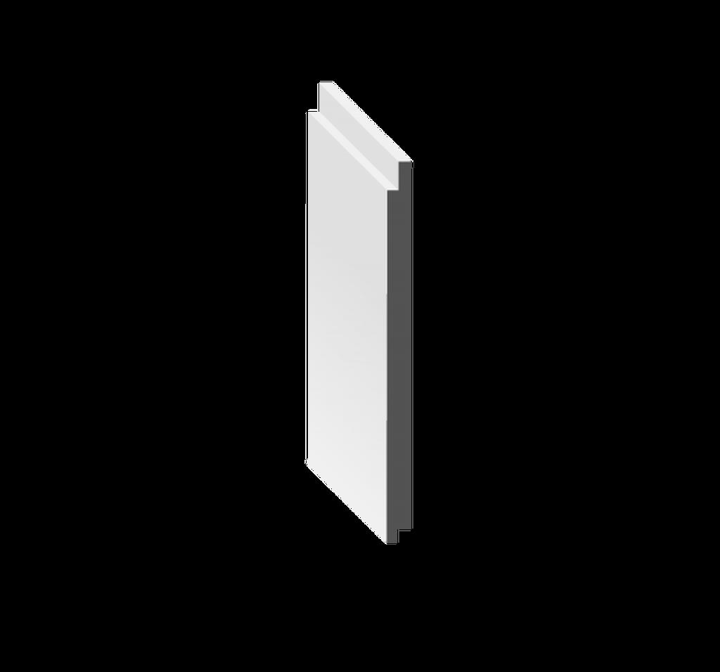 "6"" Nickel Gap Shiplap Plank"