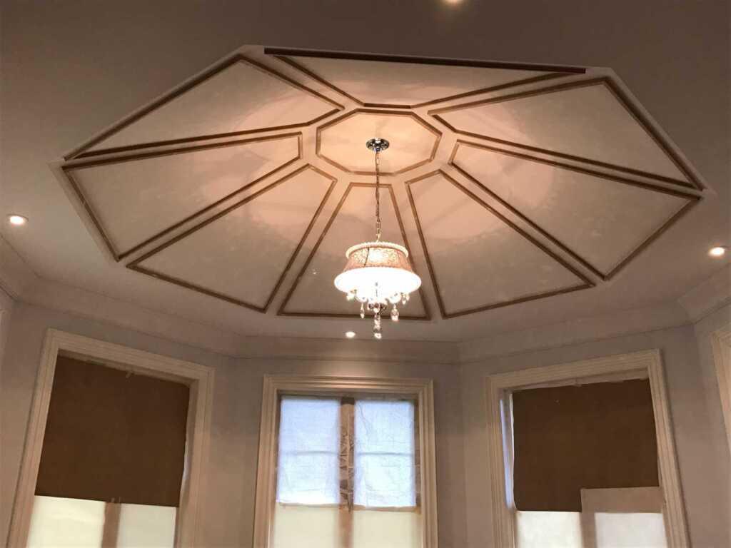 Amazing Custom Coffered Ceiling Deign Markham